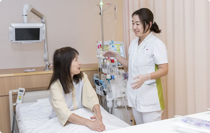 充実した透析看護体制